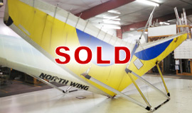 Conquest 12.4M light sport aircraft wing - SOLD