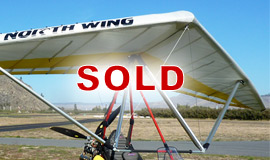 Click here to view an enlargement - Conquest 13.6M light sport aircraft wing - FOR SALE
