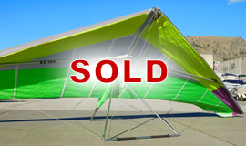 Click here to view an enlargement - EZ 190 hang glider - FOR SALE