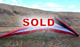 Click here to view an enlargement - Freedom 170 hang glider - FOR SALE
