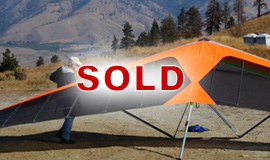 Click here to view an enlargement - Freedom X 13M hang glider - FOR SALE
