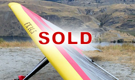 Click here to view an enlargement - Freedom X 14.5M hang glider - FOR SALE