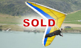 Click here to view an enlargement - Liberty 158 hang glider - FOR SALE