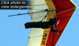 Click here to view an enlargement - Horizon 138 hang glider - FOR SALE