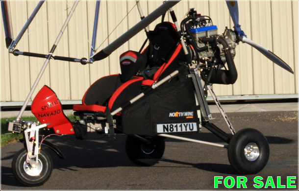 North Wing Sport X2 Navajo with Rotax 582 engine For Sale