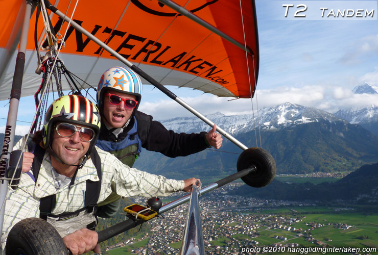 North Wing T2 tandem hang glider