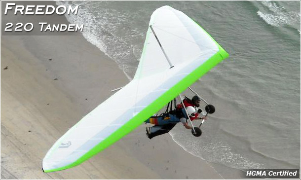 North Wing Design · Freedom 220 Tandem Hang Glider