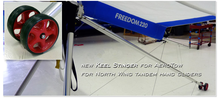 New Keel Stinger for AeroTow - for North Wing tandem hang gliders