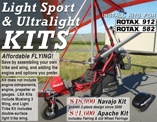 North Wing · Amateur Build Kits for Light Sport Aircraft and Soaring Trikes
