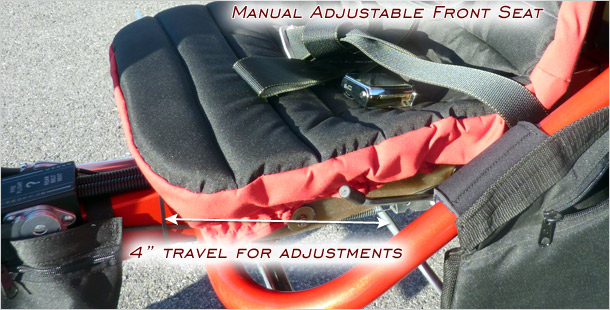 Adjustable Front Seat · Factory Retrofit