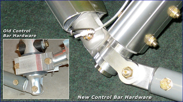 North Wing Control Bar Hardware Kit