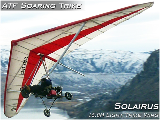 North Wing ATF Soaring Trike with Solairus Wing · Photo Gallery