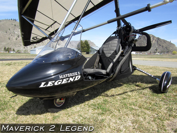 North Wing Maverick 2 Legend 1-place Ultralight Trike · Photo Gallery