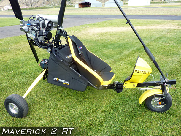 North Wing Maverick 2 RT 1-place Ultralight Trike · Photo Gallery
