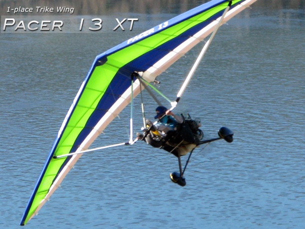 North Wing Pacer 13 XT 1-place Trike Wing · Photo Gallery