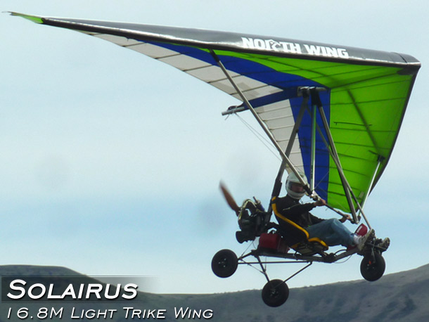 North Wing Solairus Light Trike Wing · Photo Gallery
