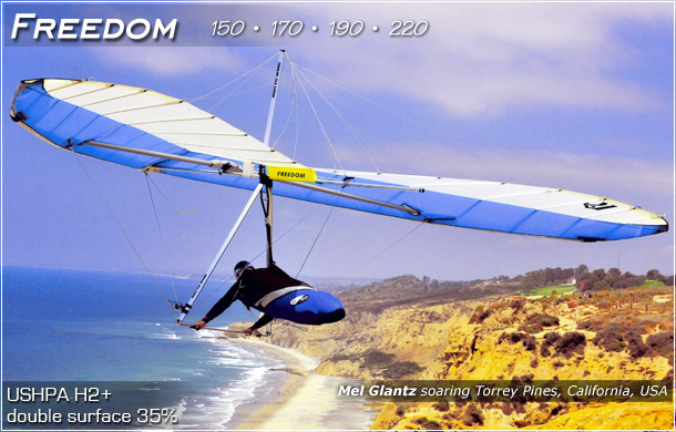 North Wing Freedom Hang Glider