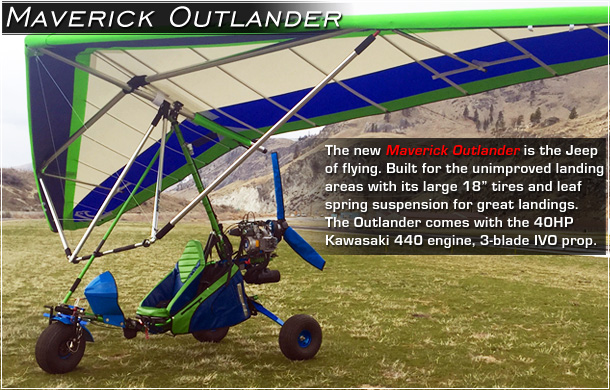 North Wing · Maverick OutLander - Ultralight Trike
