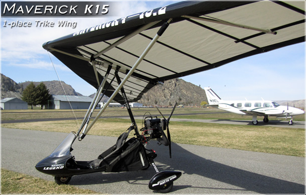 North Wing · Maverick 4 - Ultralight Trike Wing