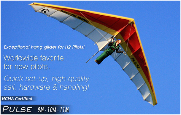 North Wing · Pulse - Hang Glider