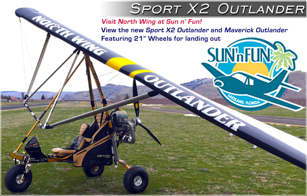 North Wing · Sport X2 Outlander - Light Sport Aircraft