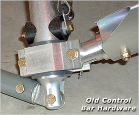 Old-style control bar hardware - please request new control bar hardware