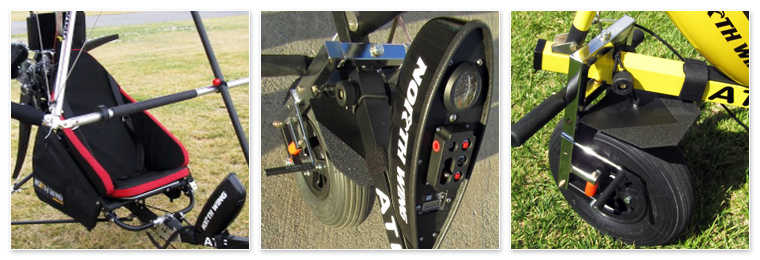 North Wing ATF Trike - Standard Features
