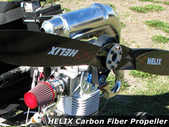 North Wing · HELIX Carbon Fiber Propeller