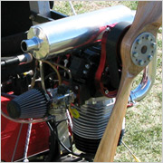 MZ-34 engine for the ATF soaring trike