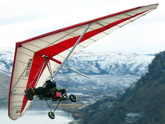 North Wing ATF Soaring Trike � Performs best with the Solairus Wing