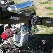 Simonini Mini2 engine for the ATF soaring trike