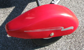 Streamlined Wheel Fairings for the North Wing Maverick 2 ultralight trike