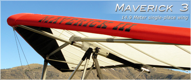 North Wing Design � Maverick 3 1-place Ultralight Trike Wing