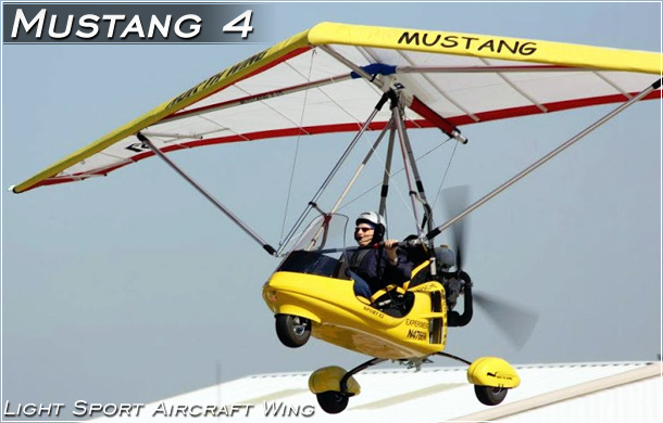 North Wing Design · Mustang 3 Light Sport Aircraft Wing